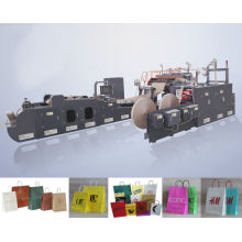 Wfd-430 Roll Fed Handle Paper Bag Making Machine