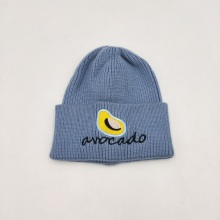 Cotton Fruit Special Embroidery Thicken Winter Warm Hat