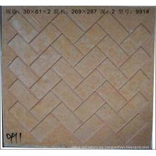 moldes de mosaico de vidrio de material de construcción