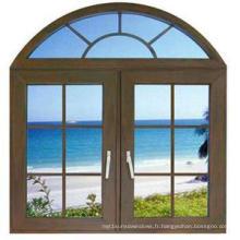 Woodwin Produit principal Fenêtre à double verre trempé en aluminium