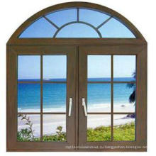 Woodwin Основной продукт Окно с двойным закаленным стеклом из алюминия