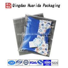 Sac d'emballage de vêtements en plastique transparent de haute qualité