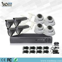 1.0MP 8chs CCTV AHD DVR Security Camera kit
