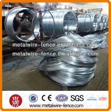 Alambre de hierro puro galvanizado con superficie lisa