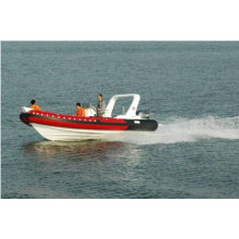 2011 nova quente iate de luxo do CE rib680A cabine barco inflável