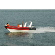 2011 новые горячие CE rib680A кабина надувная лодка роскошные яхты