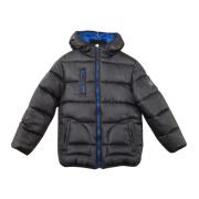 Cotton windbreaker outdoor down jacket for kids
