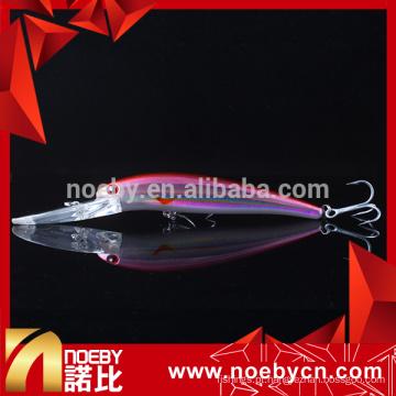 NBL9240 115mm minnow isca de pesca pesada atração iscas flutuantes