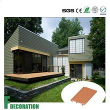 Анти-UV напольный составной decking пластичная панель стены древесины WPC