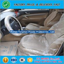 LDPE Marfil plástico 15micron eliminación automóvil Cubiertas de asiento en rollo