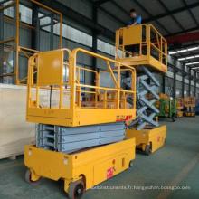 élévateur à ciseaux hydraulique hydraulique usine vente échafaudage