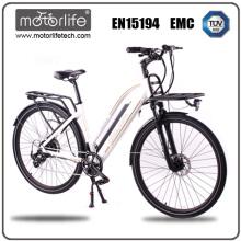MOTORLIFE / OEM marca EN15194 CE demostrado 2017 250w nueva moto eléctrica