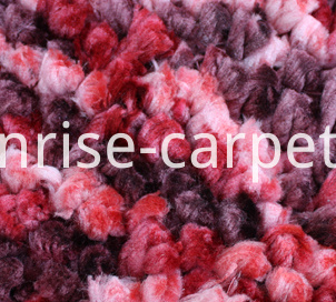 Space Dyed Thick Yarn Carpet