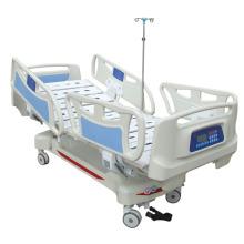 Высокоуровневая пятифункциональная электрическая вертикальная дорожная кровать с утяжелителем