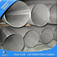 Tubo de acero inoxidable 201/304 con alta calidad