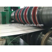 High speed slitting line for galvanized steel sheet at stress 235Mpa