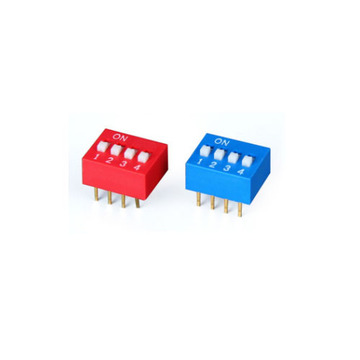 DS-04 Spdt Dip Switch Com Esquema Dip Switch