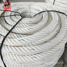 Customized 6 strands solid braided polyamide rope with high quality