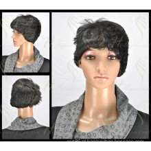 Peruca de cabelo sintético de qualidade super (HQ-SW-S9)