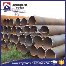 grand diamètre corrugated pipe en acier, tubes en acier soudés