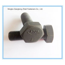 A325 Heavy Hex Bolts with Black