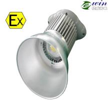 Lumière anti-déflagrante extérieure de baie de Bridgelux COB 100W LED élevée