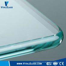 Vidro de vidro reflexivo de vidro laminado Vidro de vidro temperado de vidro laminado Vidro de vidro temperado de vidro ácido
