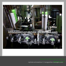 Chine balai et brosse faisant la machine fabricant / CNC 5 axe brosse à cheveux forage et tufting machine / machine / balais machin en bois