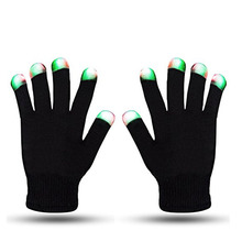 Groothandel Hot Sale Magic Black gloeiende handschoenen