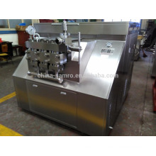 milk plant homogenizing equipment, 6000l/h flow 30Mpa pressure