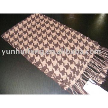 cashmere bird scarf