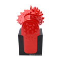 Single roller cone palm drill bit with holder