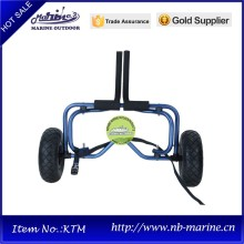 Leading for Kayak Dolly dark blue adjustable kayak trailer for sale with tie down strap supply to Niue Importers