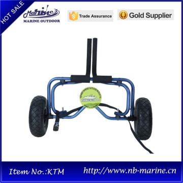China Exporter for Kayak Trolley dark blue adjustable kayak trailer for sale with tie down strap export to Armenia Suppliers