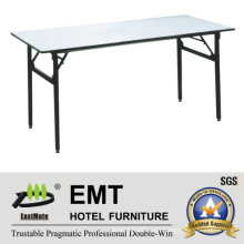 Rectangle Utility Hotel Furniture Foldable Banquet Table (EMT-FT605)