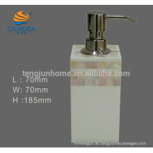 Eco freundliche Süßwasser-Shell-Seifenpumpe für Bad-Set