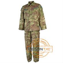 Teste SGS vestuário uniforme BDU exército militar