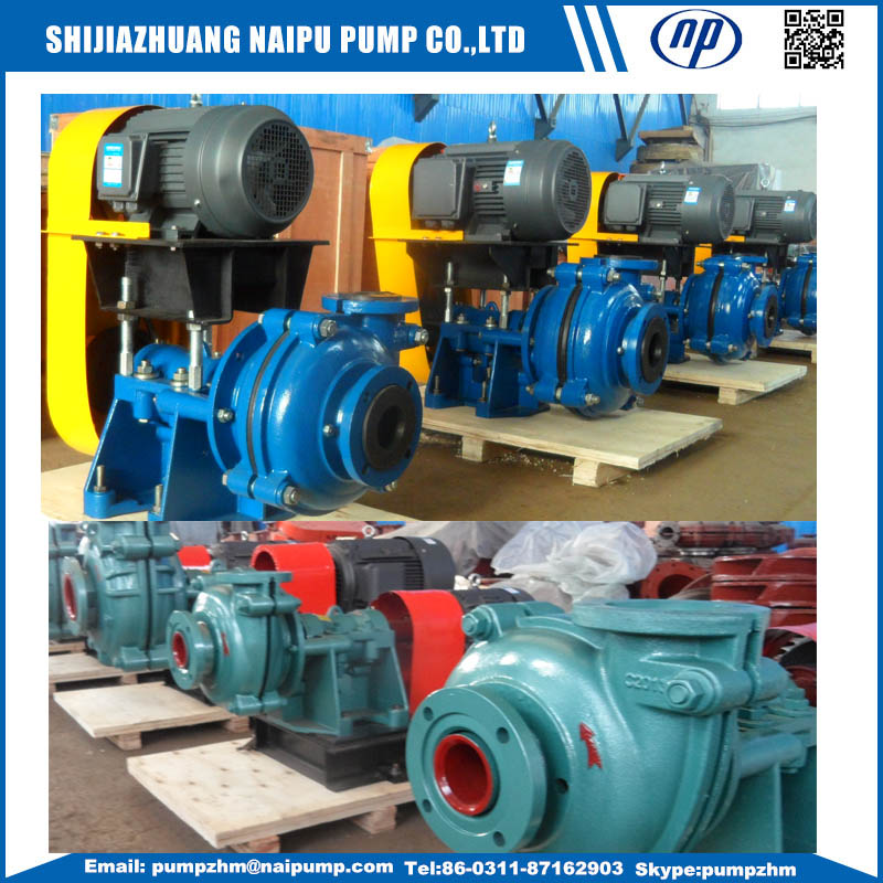 AH(R)slurry pumps