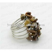 Обручальные кольца из тигрового камня