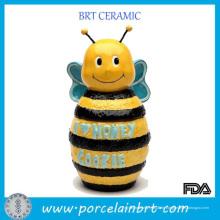 Entzückendes Hauptküchengeschirr-Bienen-Form-Honig-Glas