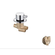 Manufacturer brass chrome shower panel taps standard bathroom shower faucet