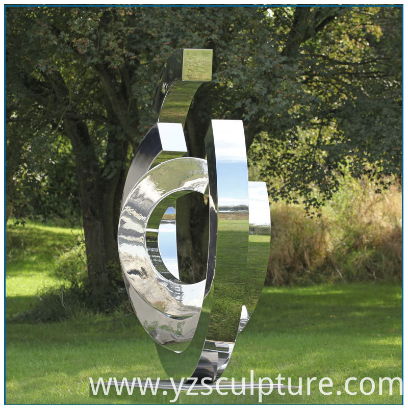 Stainless Steel Abstract Sculpture