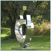 Stainless Steel Abstract Sculpture For Outdoor
