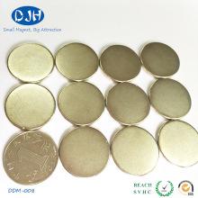 Diamètre 25 * Épaisseur 3 mm N35 Aimant de permanence de qualité standard