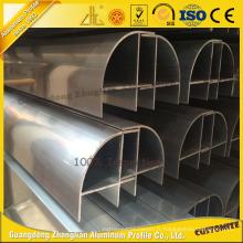 Profil en aluminium propre avec différentes couleurs et tailles personnalisées