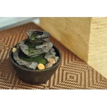 High Quality for Table Fountain Green Candle Table Fountain  Slimy Stone supply to Armenia Factories