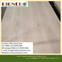 1220 * 2440mm BB / CC Grade Ash Plywood / Fancy Plywood