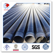 API 5L X60 ERW Steel Pipe 3PE Coated Beveled End
