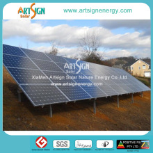10kw Residential Backyard Ground Mounted Solar Panels PV Racking Systems