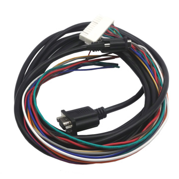 VGA cable with wire harness
